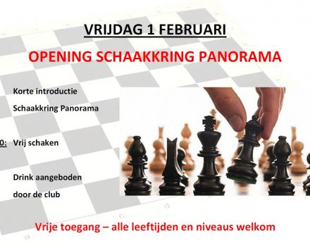 Opening schaakkring Panorama
