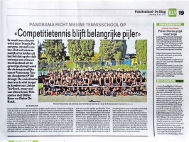 Panorama richt nieuwe tennisschool op (PTA)