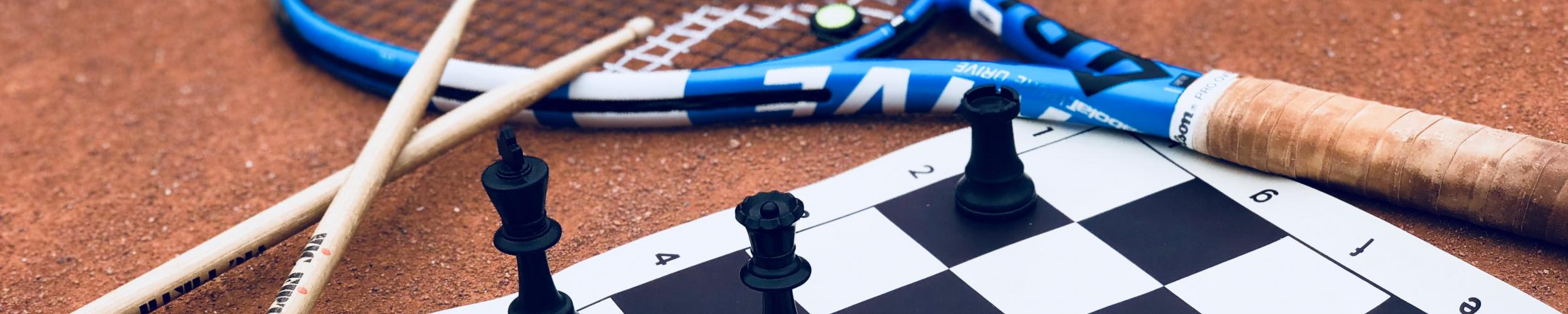 Multistage: Tennis, Schaken en Drummen