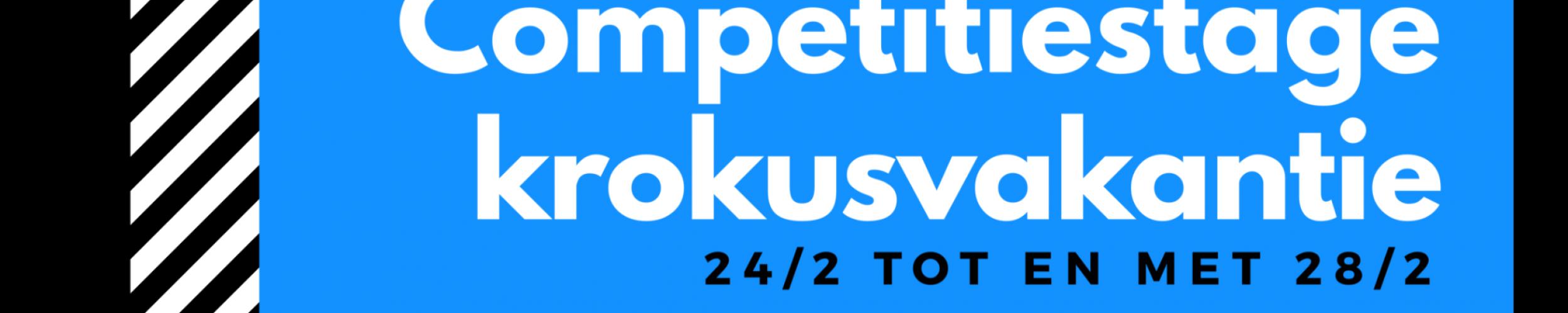 Competitiestage krokusvakantie 2020